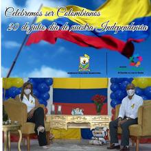 20 de Julio día de la Independencia de nuestro país .Una fecha especial, memorable para los Colombianos