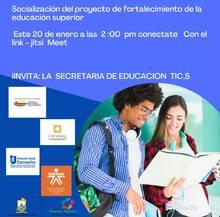 Este 20 de enero conéctate invita Secretaria de Educación