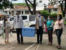 A las Instalaciones del Hospital Local - Ese Norte 3 llegaron las primeras vacunas