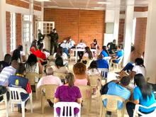 La Administración municipal en pleno,  el consenso con supermercado, fruver, sector salud con el propósito de habilitar un corredor humanitario