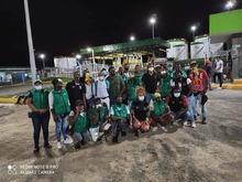 Alcalde Dagoberto Dominguez se unió a la caravana humanitaria